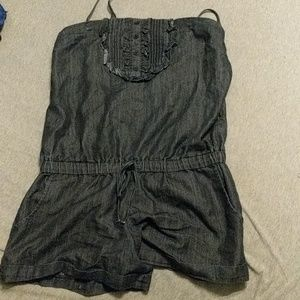 Other - Cute jean Romper